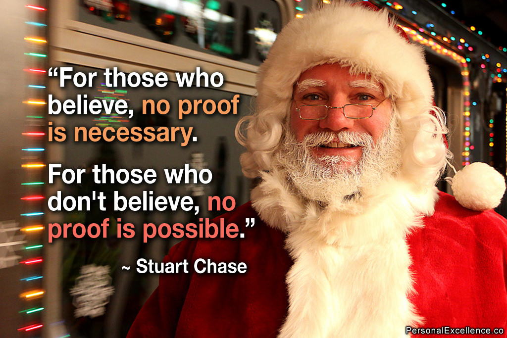 Believe in Santa Claus